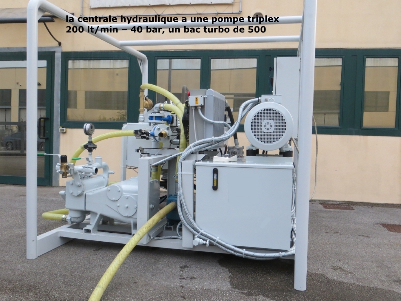 Centrale d'Injection Coulis Ciment